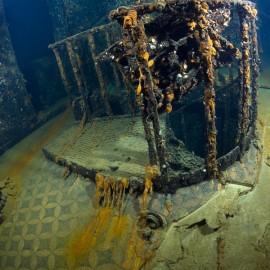 Inside the Britannic